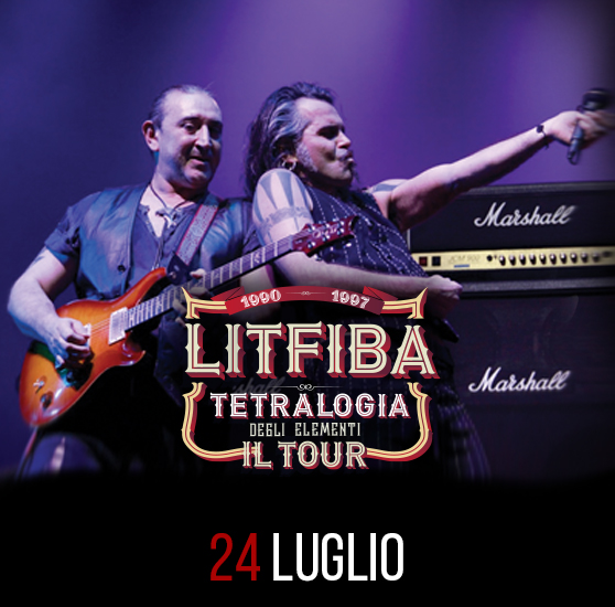 litfiba rock in roma