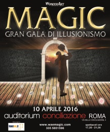 magic auditorium conciliazione