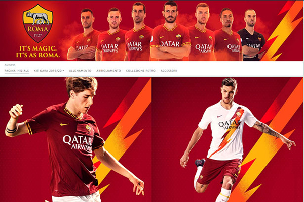 amazon diventa official store magika as roma