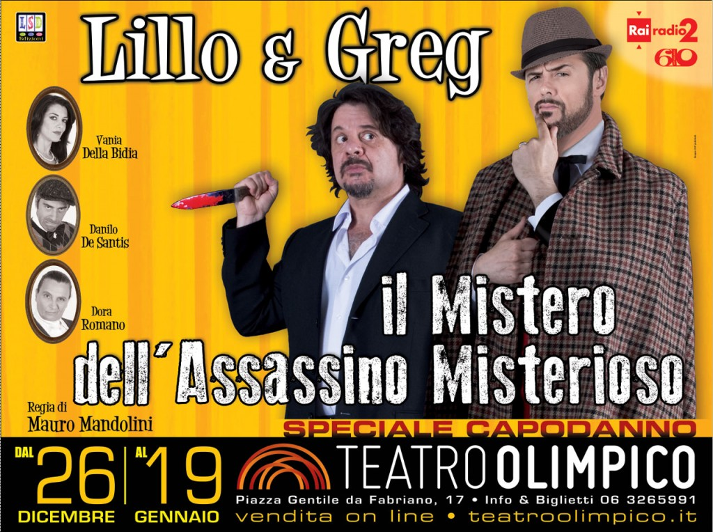 lillo e greg assassino misterioso