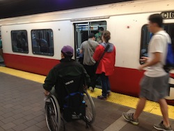 Wheelchair user_on_Red_Line.agr